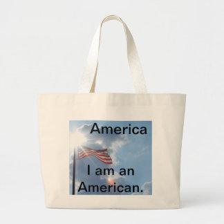 América - soy un americano bolsa