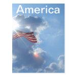 América - soy un americano postal