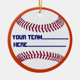America Spirit Baseball charm and Souvenir Ceramic Ornament