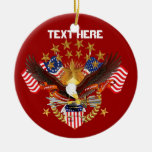 America Spirit Charm  Please See Notes Christmas Ornaments