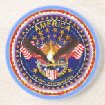 America Spirit Is Not Forgotten  Please See Notes Drink Coaster