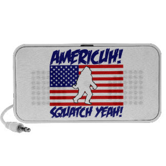 ¡América ¡Squatch sí Altavoces