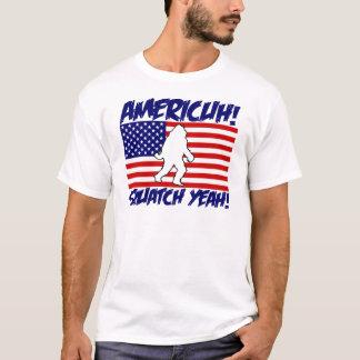 America! Squatch Yeah! T-Shirt