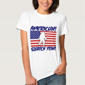America! Squatch Yeah! Tee Shirt