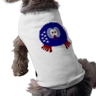 America Stars Pom Pom Pal Dog Tee