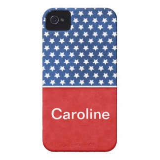America Stars Red White Blue Iphone 4/4S Case