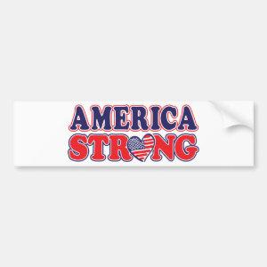 America Strong Bumper Sticker