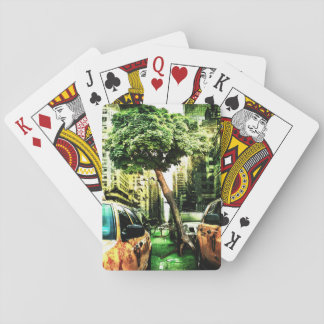 America Style of Taxi Design Vintage Playing Cards