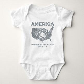 America: Surprising The World Baby Bodysuit