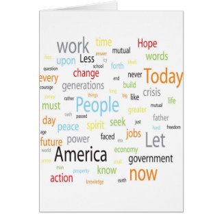 America Tags Card