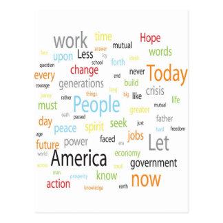 America Tags Postcard