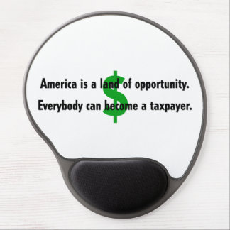 America Taxpayer Gel Mousepads