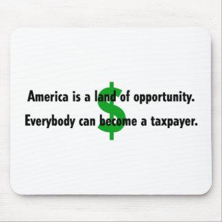 America Taxpayer Mousepad