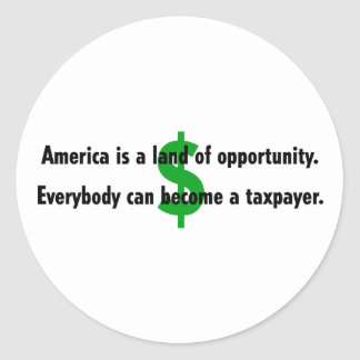 America Taxpayer Stickers