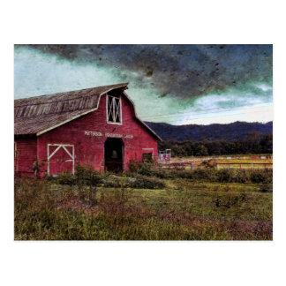 América tempestuosa - Carolina del Norte rural Tarjetas Postales