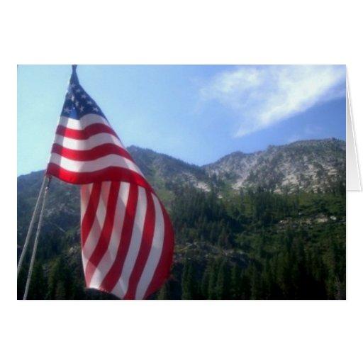 America the Beautiful Card