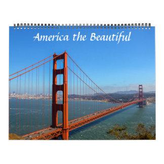 America the Beautiful Photo Calendar