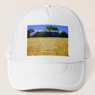 America the Beautiful Shirts Trucker Hat