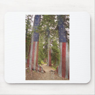 America The Beautiful Show Me The Way Mouse Pad