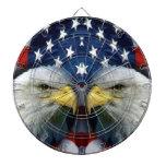America the beauty_ dartboard with darts