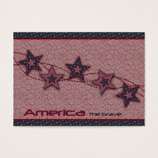 America the Brave Gift Tag