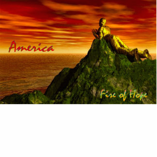 AMERICA~The Fire of HOPE! Photo Sculpture