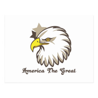America The Great Postcard