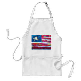 America the Resilient Adult Apron