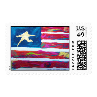 America the Resilient Postage