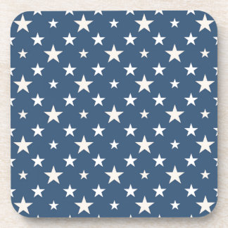America themed stars pattern coaster