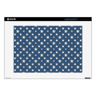 """America themed stars pattern decal for 15"""" laptop"""