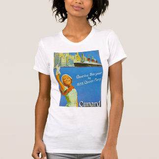 America this Year by RMS Queen Mary T-Shirt