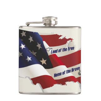 América tierra del hogar libre del valiente del pa