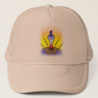 America, time again to stand proud. trucker hat