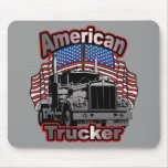 America Trucker Mouse Pad