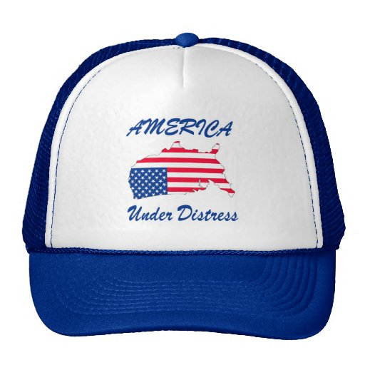 America Under Distress Truckers Hat