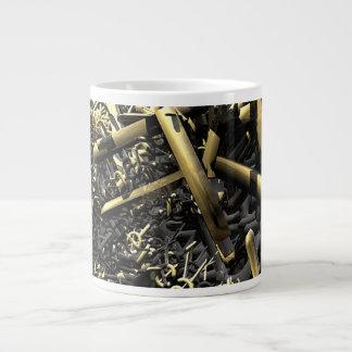 America Under Siege Large Coffee Mug
