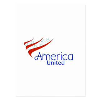America United Postcard