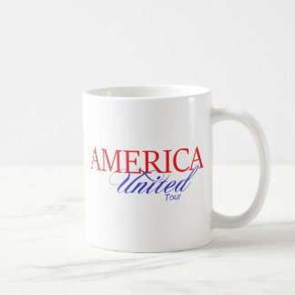 AMERICA UNITED TOUR COFFEE MUG