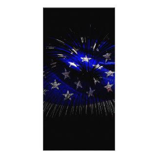 America US Flag Card