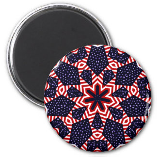 America USA Flag_ 2 Inch Round Magnet