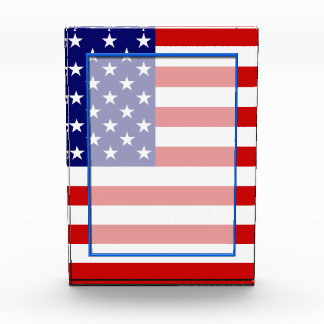 America, USA flag Acrylic Award