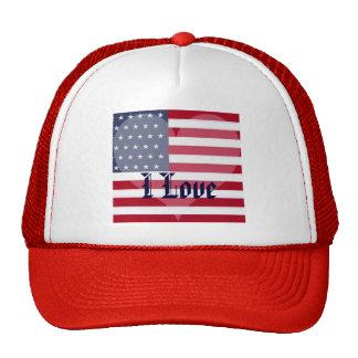 America-USA_ Gorros