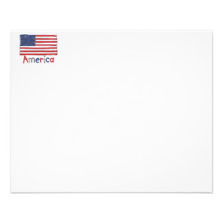 America USA KIDS Flag Flyer
