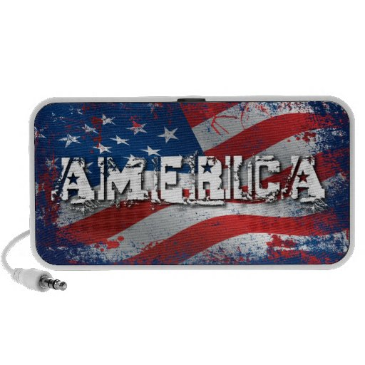 America USB Speaker