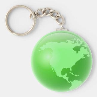 América verde llavero