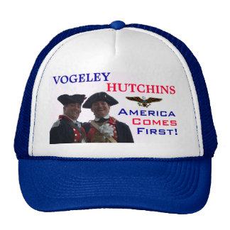 América viene primero gorras de camionero