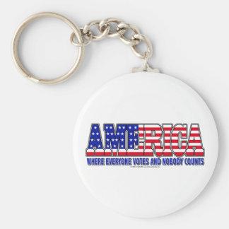 America Votes Keychain