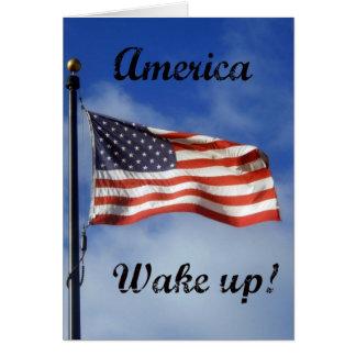 America, Wake up! Card