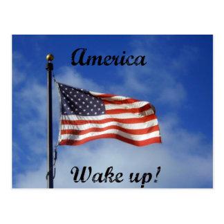America, Wake up! Postcard